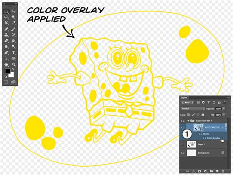 color overlay illustrator splitting and coloring complex vector shapes in photoshop