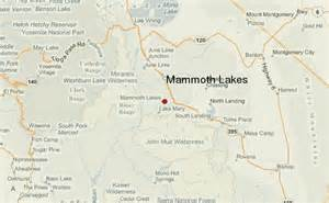 mammoth lake california map mammoth lakes location guide
