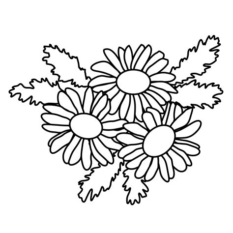 Free Small Flower Coloring Pages Flower Coloring Pages Free