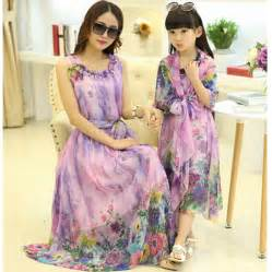 aliexpress com buy mom and daughter dress matching mother daughter clothes family look