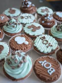 how to decorate cupcakes for a boy baby shower baby