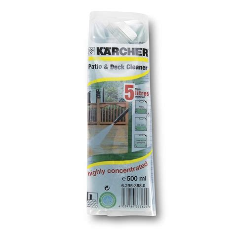 karcher patio deck cleaner ml bunnings warehouse