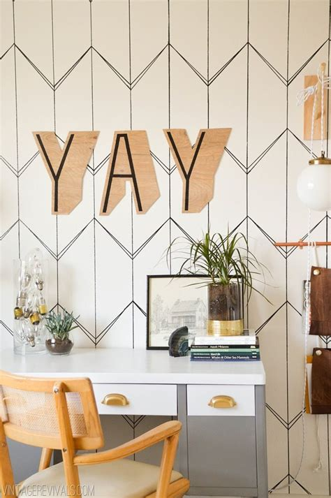 wallpaper for walls diy diy wallpaper with a sharpie vintage revivals