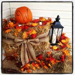 fall hay bale decorating ideas 20 diy front porch decorating ideas front