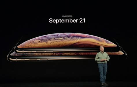 iphone xs and iphone xs max release date price and availability