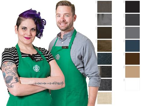 starbucks releases new dress code urging staff to open closets and news the
