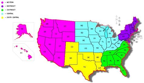 us regions map region map pictures to pin on pinsdaddy