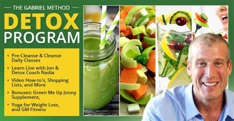 What Is Jon Gabriel S Detox Cleanse by The Gabriel Method Mind Weight Loss Non Diet Approach