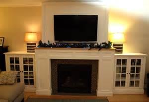 impressive cabinets around fireplace 11 craftsman