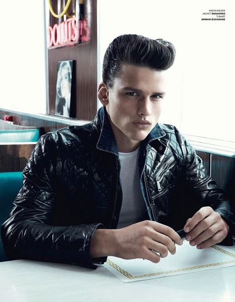 male rockabilly models greasers past and present