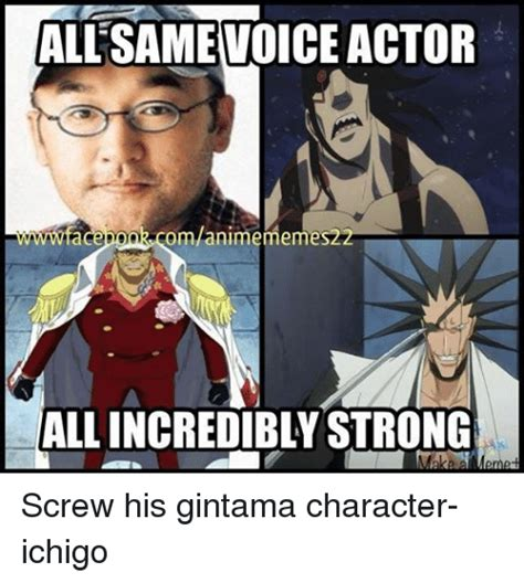 Actor Memes - 25 best memes about gintama characters gintama