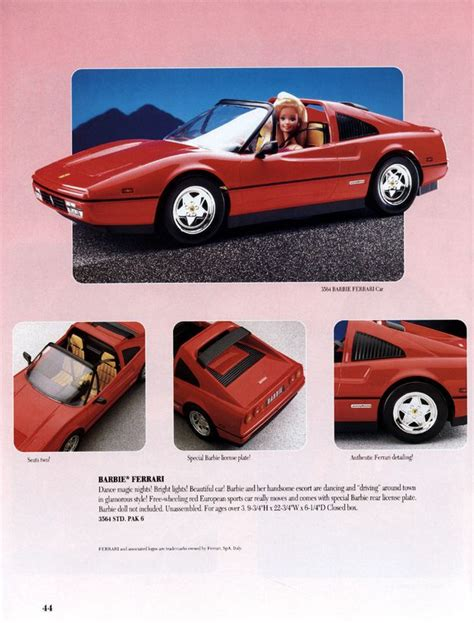 barbie ferrari 50 best doll collecting barbie autos images on pinterest