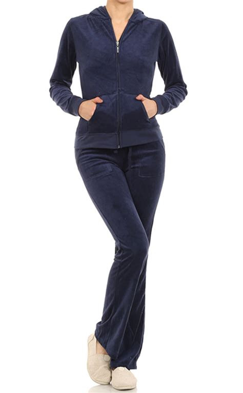 Vs Set Pant velour classic hoodie sweat suit jacket and pant set ebay