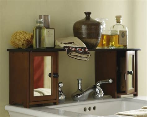 Sink Shelves Bathroom Bathroom Furniture Sets Mirrored The Sink Bathroom Storage Shelf Cabinet By Collections Etc