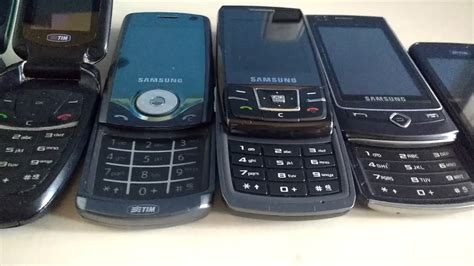 my samsung phones collection
