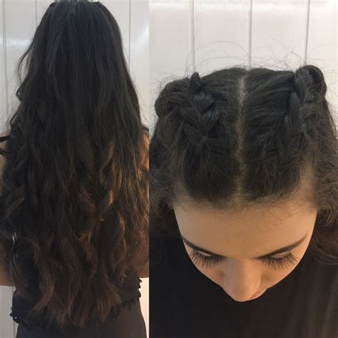 loose waves plaits for women best 25 two french braids ideas on pinterest