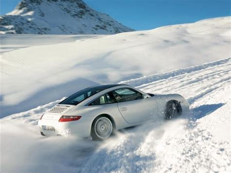porsche 911 snow a southerner s guide to winter driving