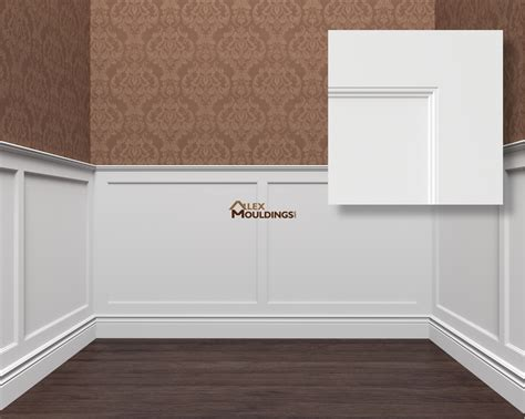 Wainscotting Panels by Wall Panels Wainscoting Raised Recessed Flat