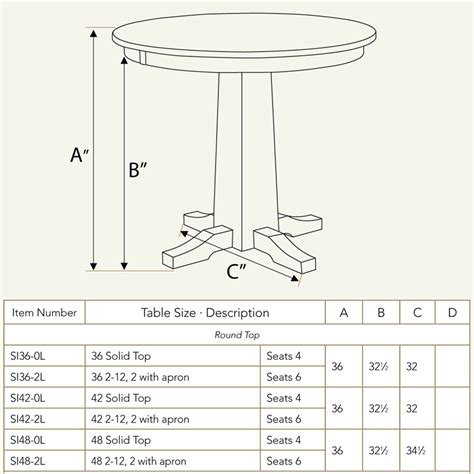 table dimensions sabrina pub table ohio hardwood furniture