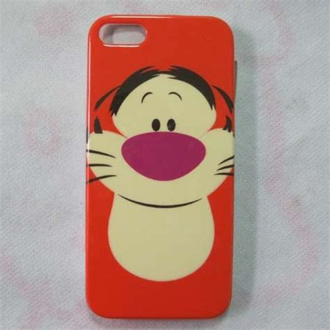Pooh Tiger Intip Iphone 6 Iphone 6s tiger rabbit piglet winnie the pooh back skin for iphone 5 5g ebay