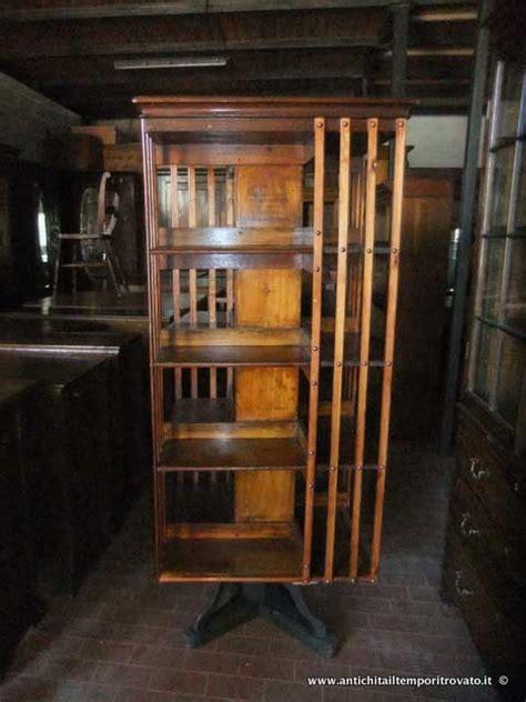 librerie girevoli antichit 224 il tempo ritrovato antiquariato e restauro