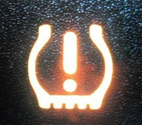tpms warning light  tire pressure indicator