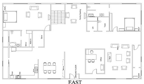 house plan as per vastu east facing house plans