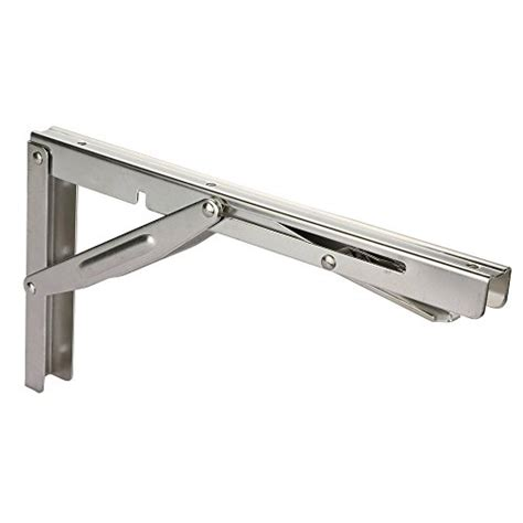 fold desk hardware goture stainless steel folding shelf bracket heavy duty