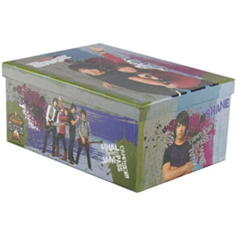 buy camp rock  stacking storage boxes  home bargains