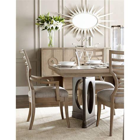 stanley pedestal dining table stanley furniture virage pedestal dining table
