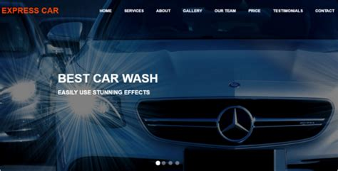 15 Responsive Free Html5 Website Templates Themes Auto Detailing Website Templates