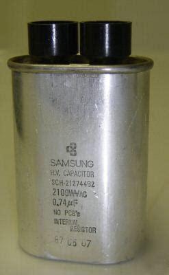 hv capacitor samsung new samsung hv capacitor sch 212744b2 for microwaves