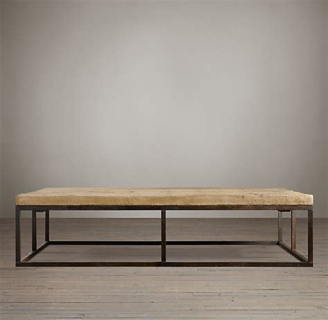 Restoration Hardware Coffee Table How To Build A Diy Industrial Coffee Table For Only 75 24 House Updated