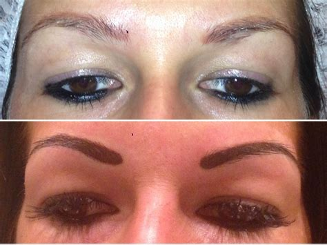tattoo eyebrows cardiff nouveau powder brow rachel kennedy semi permanent