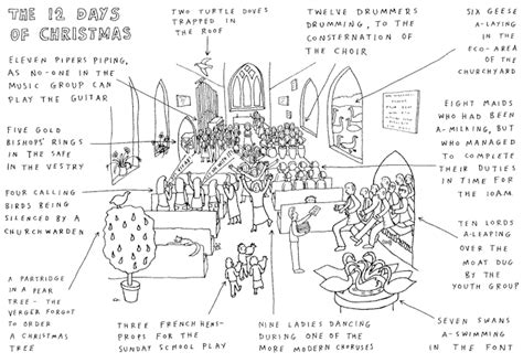 modern twelve days of christmas dave walker s 12 days of in a modern uk church thinking out loud