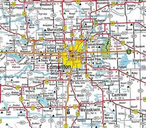 edmonton map of canada maps of edmonton