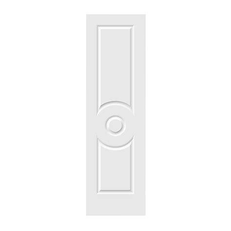 24 X 80 Interior Door Jeld Wen 24 In X 80 In C3140 Primed 3 Panel Solid Premium Composite Single Slab Interior
