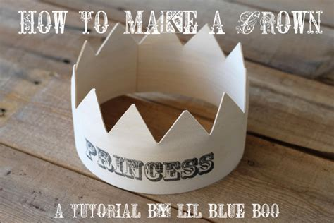 How Do You Make A Crown Out Of Paper - how to make a wood crown part i a tutorial