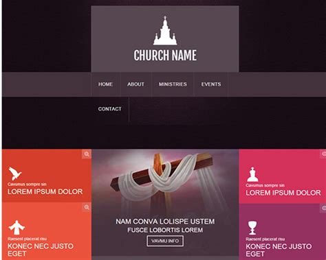 church bootstrap themes free premium templates