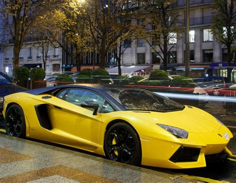 yellow and black lamborghini black and yellow aventador carflash lamborghini