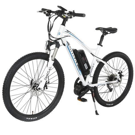 Jaket Biker Leather 7th Generation onway 26 inch 9 speed electric mountain bike 8 36v