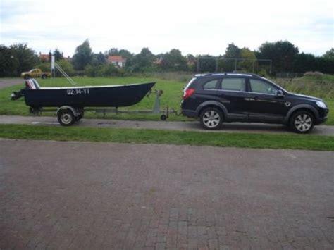 motorboot met trailer te koop motorboot crescent inclusief buitenboordmotor en trailer