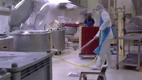 sanificazione industria alimentare igiene e pulizie in aziende di produzione agro alimentare