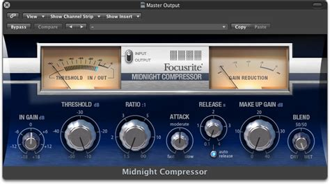 Focusrite Scarlet Plugins Suite 1 7 kvr midnight plugin suite by focusrite mastering vst plugin audio units plugin and rtas plugin