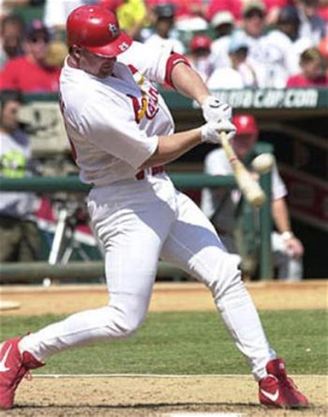 mark mcgwire swing the one true swing