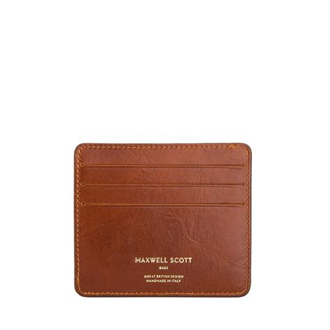 The Leather the marco luxury slim leather credit card holder for