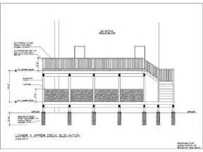 wood deck structure wood deck construction details deck decks