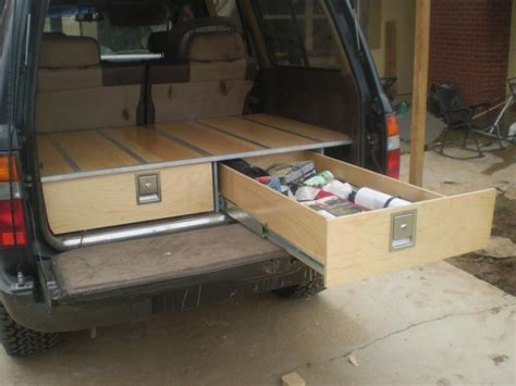 Suv Storage Drawer Plans by Truck Suv Conversion Autos Post