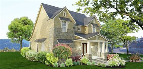 stone farmhouse plans 3 bedroom stone farmhouse plan 16891wg 1st floor