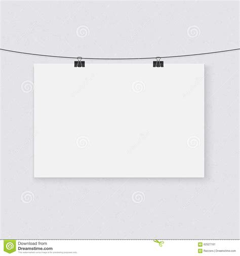 String Template - photorealistic vector poster on a string template